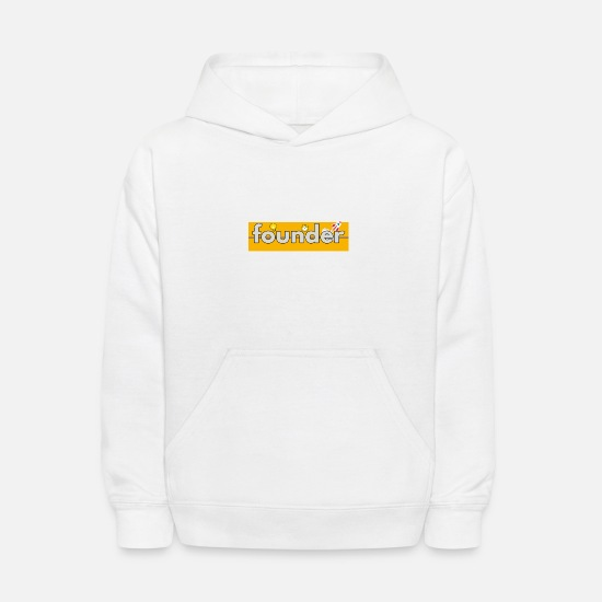 Seller Hoodies & Sweatshirts - founder - Kids' Hoodie white