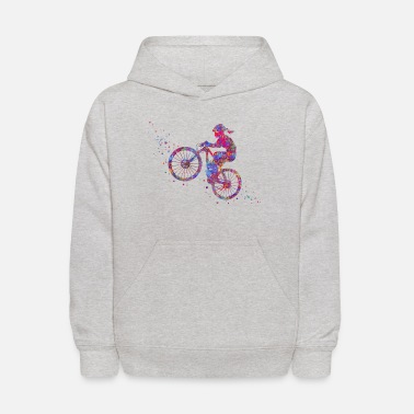 Mountain Bike Mountain biking, mountain bike, sport - Kids' Hoodie