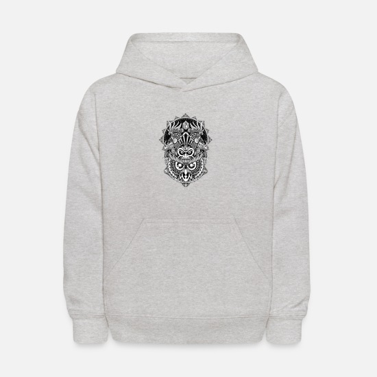 Ancient Hoodies & Sweatshirts - Ancient Prophecy - Kids' Hoodie heather gray