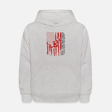 Military YOU ARE SECURED TO FLY ABOVE THE GROUND - Kids' Hoodie