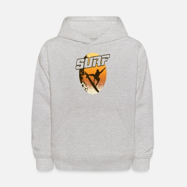 Theme Surf in the beach - Kids' Hoodie
