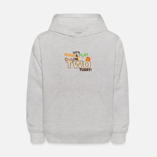 Kids Hoodiezoo Jungle Theme Second 2nd Birthday Shirt