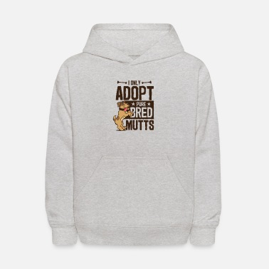 Pure-bred Pure Bred Mutt Rescue Adoption - Kids' Hoodie
