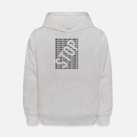 Saveyourinternet Hoodies & Sweatshirts - Stop Article 13 - Kids' Hoodie heather gray