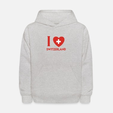 Switzerland Switzerland wins present - Kids' Hoodie