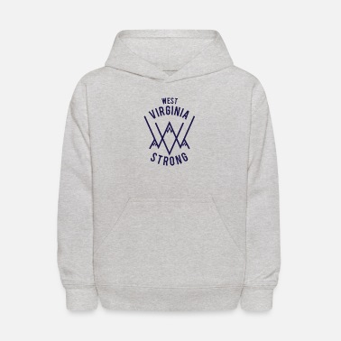 west virginia - Kids' Hoodie