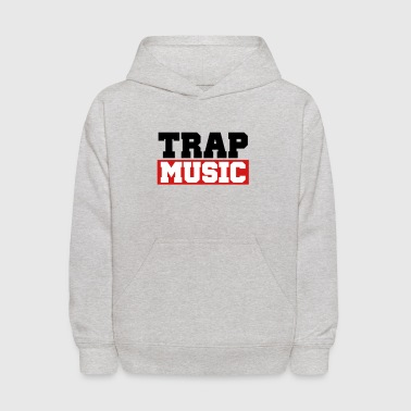 TRAP MUSIC - BASS PARTY - Kids' Hoodie