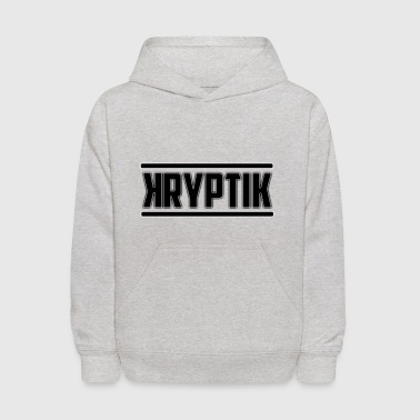 KryptikHD's Logo For YouTube - Kids' Hoodie