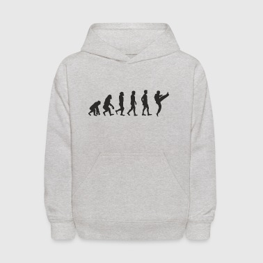 Evolution Karate - Kids' Hoodie