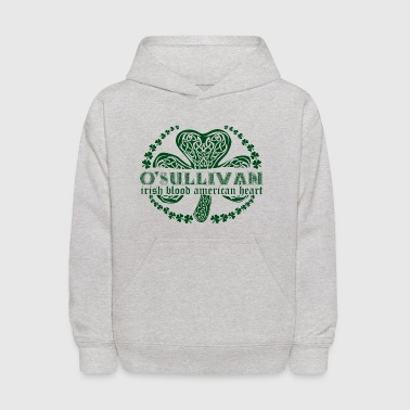 irish family name surname osullivan - Kids' Hoodie