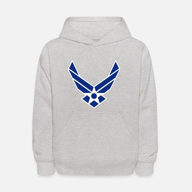 Insignia Air Force Insignia - Blue - Kids' Hoodie