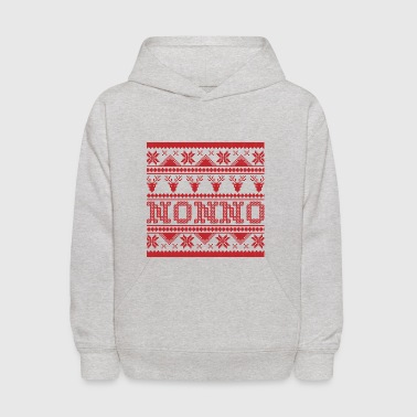 Christmas Ugly Xmas Sweater Nonno - Kids' Hoodie