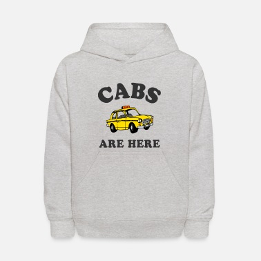 Cabs Cabs Are Here - Kids' Hoodie