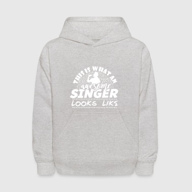 Singing - Singer - Song - Music - Musician - Gift - Kids' Hoodie