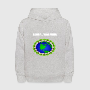 Global global warming - Kids' Hoodie