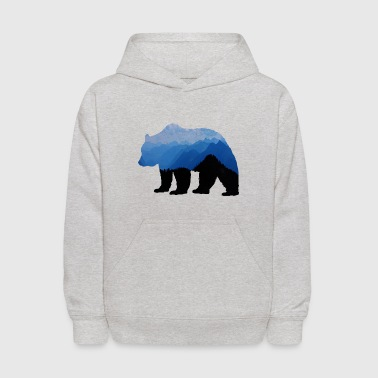 National Park Bear - Kids' Hoodie