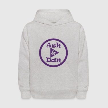 Ash and Dan YouTube Channel - Kids' Hoodie