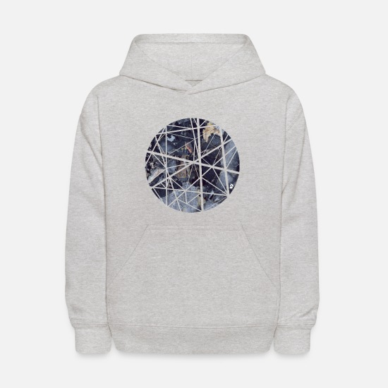 Design Hoodies & Sweatshirts - AD Marble Sphere - Kids' Hoodie heather gray