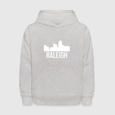 Raleigh North Carolina City Skyline - Kids' Hoodie