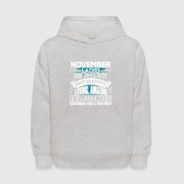 NOVEMBER Ladies - Kids' Hoodie