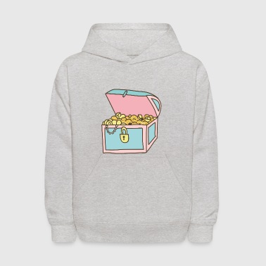 Treasure treasure chest - Kids' Hoodie