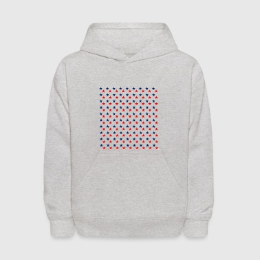 4th of July - Patriotic - Kids' Hoodie