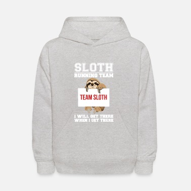 Sloth Sloth Running Team - Kids' Hoodie