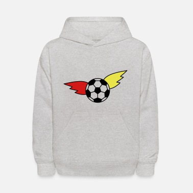 Black Red Gold Soccer wing black red gold championship Germany - Kids' Hoodie