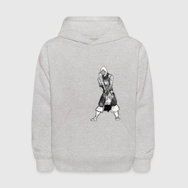 Fighting Stance - Kids' Hoodie