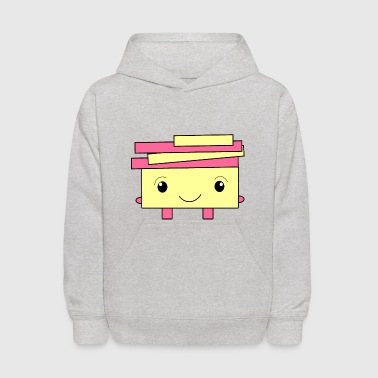 Sweet Monster Design for Kids - Kids' Hoodie