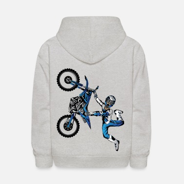 Toddler Yamaha Freestyle Motocross - Kids' Hoodie
