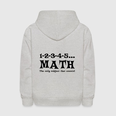 Black Math Counts - Kids' Hoodie