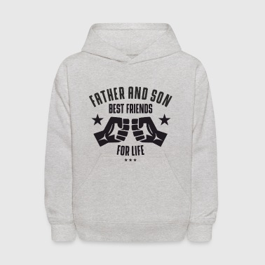 Father and Son best friends for life  - Kids' Hoodie