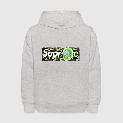 rick and morty supreme - Kids' Hoodie