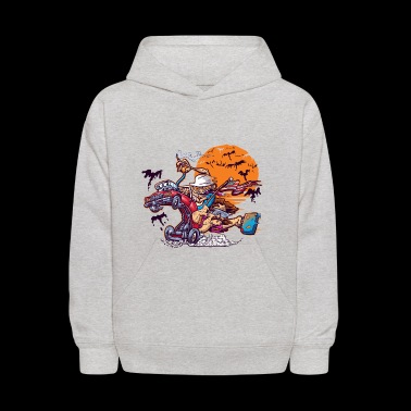 Fink and Loathing - Kids' Hoodie
