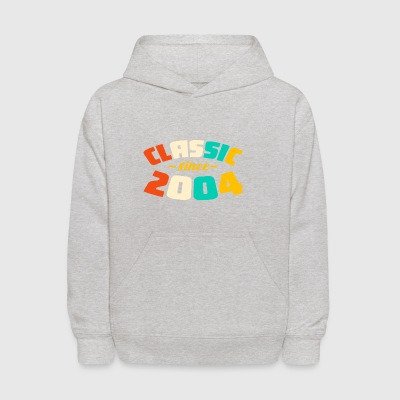 2004 Classic Vintage T Shirt 13 yrs old Bday 13th - Kids' Hoodie