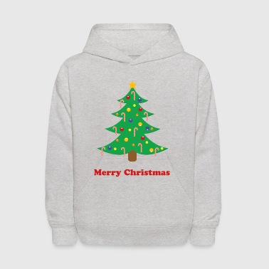 Decorated Christmas Tree - Kids' Hoodie