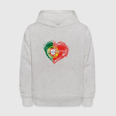 HOME ROOTS COUNTRY GIFT LOVE Portugal - Kids' Hoodie
