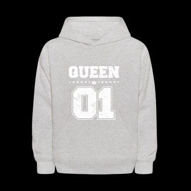 Funny Partner Partnerlook Shirt QUEEN 01 - Kids' Hoodie