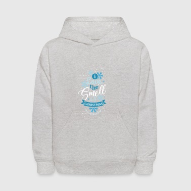 I Love The Smell Of Christmas In The Morning Gift - Kids' Hoodie
