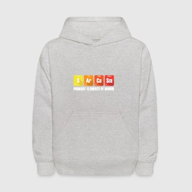 Sarcasm gift for Chemistry Teacher - Kids' Hoodie