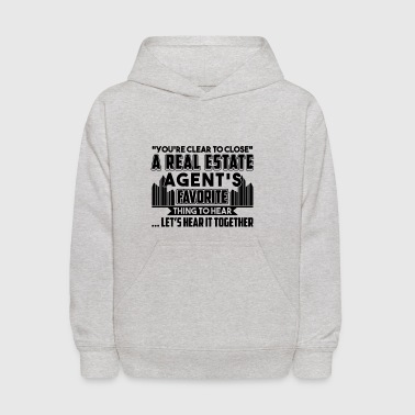 Real Estate Agent's Favorite Shirt - Kids' Hoodie