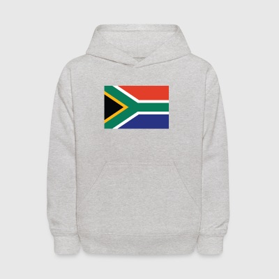 Flag of South Africa Cool South African Flag - Kids' Hoodie