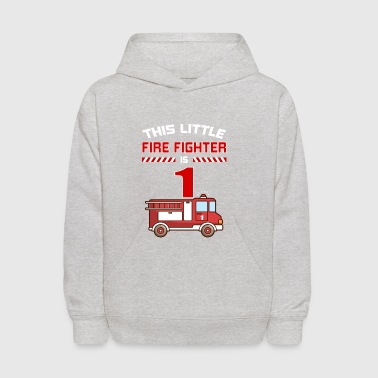THIS LITTLE FIRE FIGHTER IS 1 - Kids' Hoodie