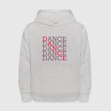 Dance with two color - Kids' Hoodie