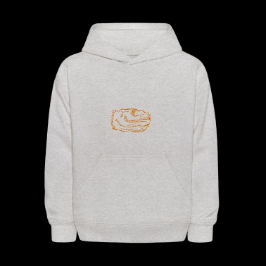 bearded dragon stylized - Kids' Hoodie