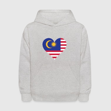 A Heart For Malaysia - Kids' Hoodie
