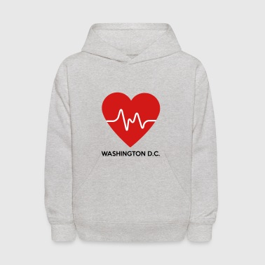 Heart Washington D.C. - Kids' Hoodie