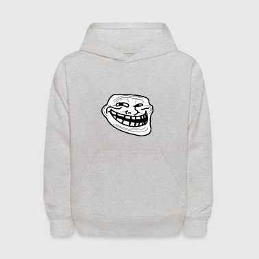 Troll Face short sleeved shirt - Kids' Hoodie