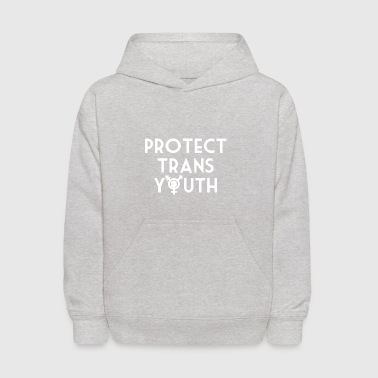 Protect Trans Youth Shirt - Kids' Hoodie